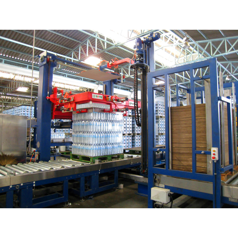 Auto. Palletizer   ( Best Design For Film Shrink Packaging )
