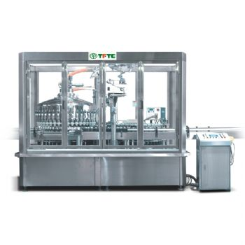 Filling / Forming Of Aluminum-Foil Cap / Induction Type Sealing Machine